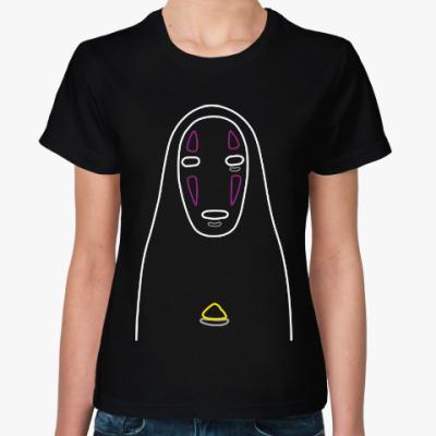 Женская футболка Без Лица (Унесенные Призраками)