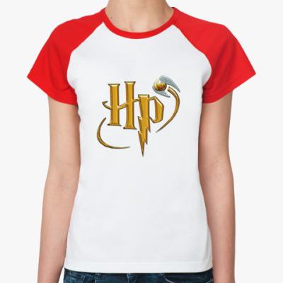 Женская футболка реглан HP  Ж ()