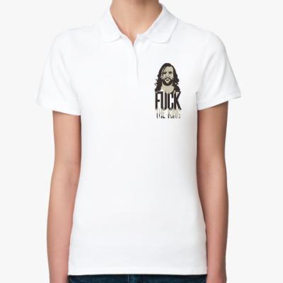 Женская рубашка поло Fuck The King