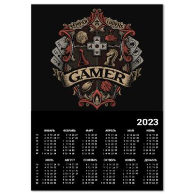 Календарь Герб Геймера Gamer