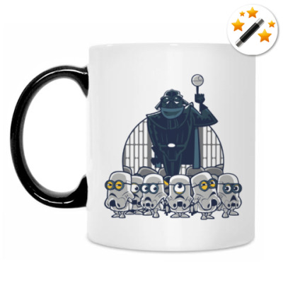 Кружка-хамелеон Darth Vader & Minions