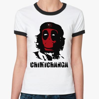 Женская футболка Ringer-T Deadpool
