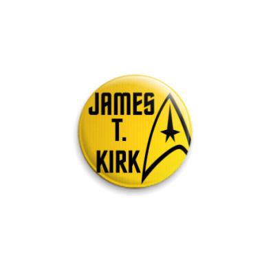 Значок 25мм James T. Kirk (STR31)