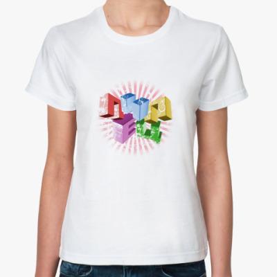 Классическая футболка Футболочка Просто Пипец!