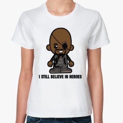 Классическая футболка Ник Фьюри