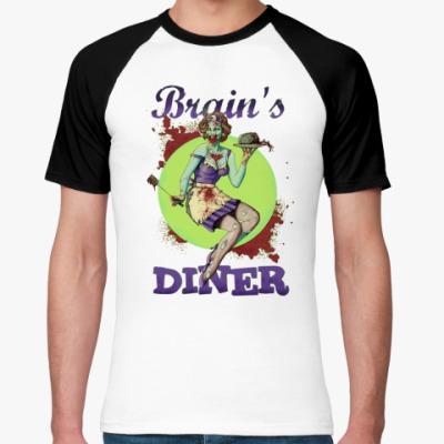Футболка реглан Brain's Diner
