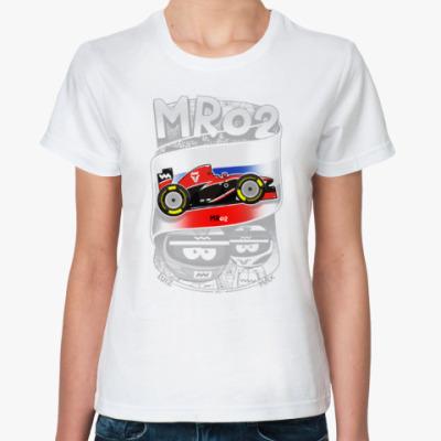 Классическая футболка MR02