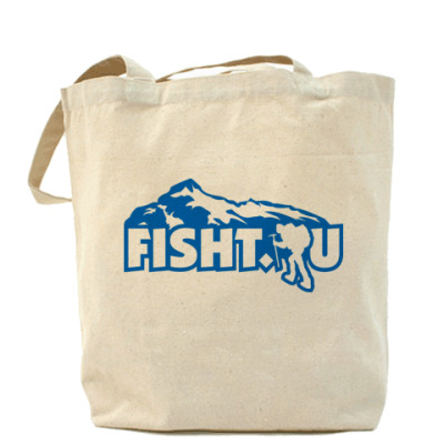 Сумка Холщовая сумка FISHT.RU