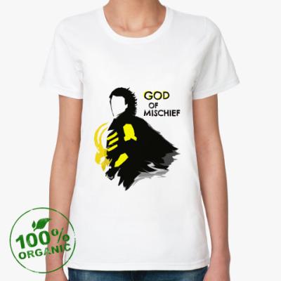 Женская футболка из органик-хлопка   LOKI