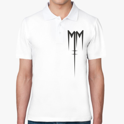 Рубашка поло Marilyn Manson