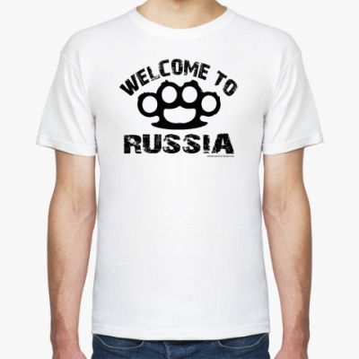 Футболка  футболка WELCOME RUS