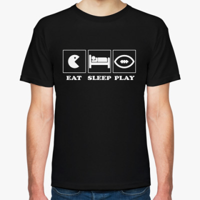 Футболка EAT SLEEP FOOTBALL