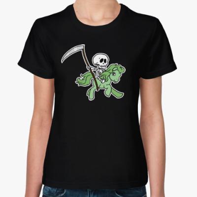 Женская футболка My little death