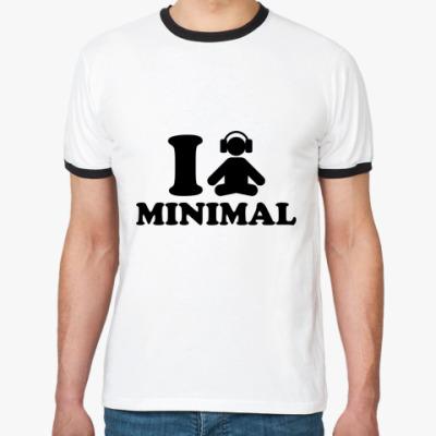 Футболка Ringer-T I MINIMAL