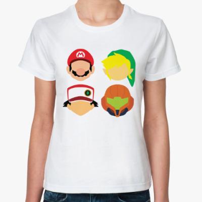 Классическая футболка Герои Игр