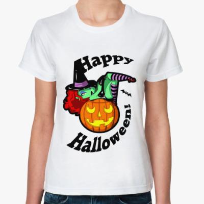 Классическая футболка Halloween Жен