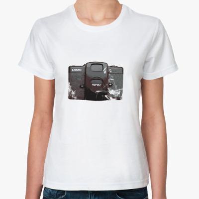 Классическая футболка lomo