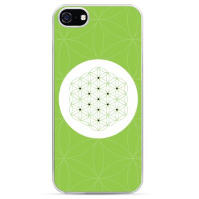 Чехол для iPhone  FLOWER OF LIFE