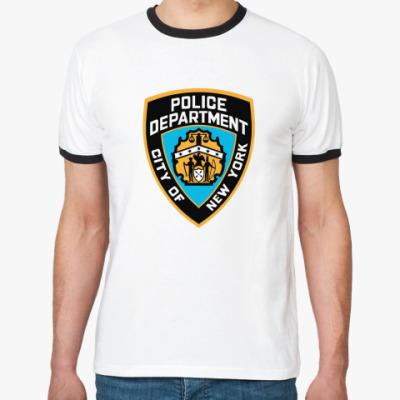 Футболка Ringer-T Police