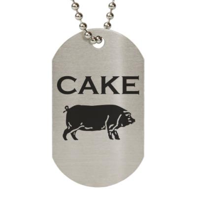 Жетон dog-tag Cake