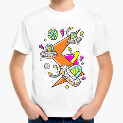 Детская футболка Donut AliensДетская футболка