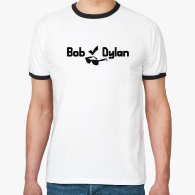 Футболка Ringer-T Bob Dylan
