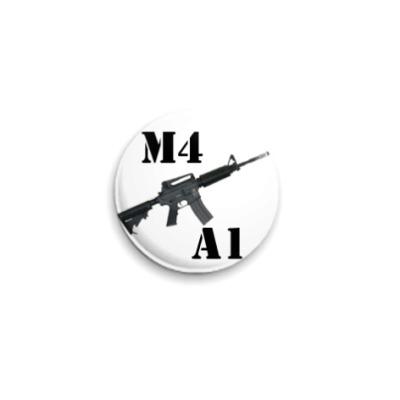 Значок 25мм М4А1