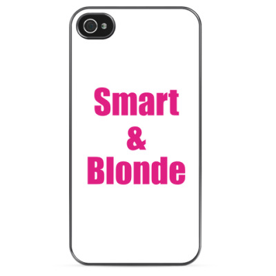 Чехол для iPhone Smart&Blondy
