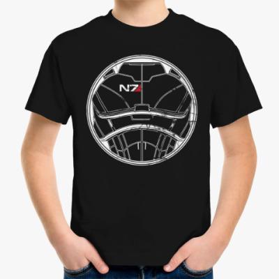 Детская футболка N7 Mass Effect