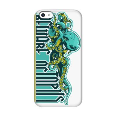 Чехол для iPhone 5c Beware octopus