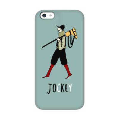 Чехол для iPhone 5c Жокей