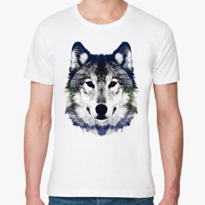 Футболка из органик-хлопка Волк