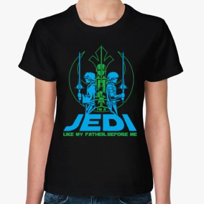 Женская футболка Джедай (Jedi)