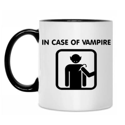 Кружка In Case Of Vampire