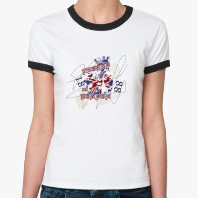 Женская футболка Ringer-T Legend of London