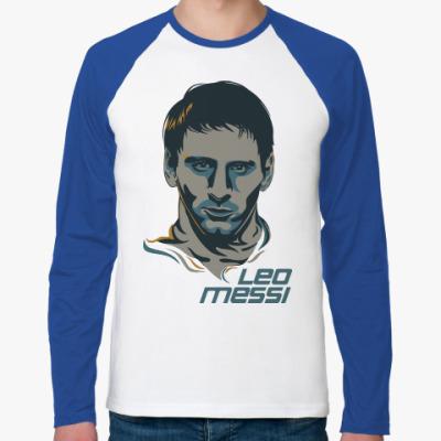 Футболка реглан с длинным рукавом Leo Messi