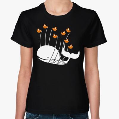 Женская футболка Ошибка в твиттере