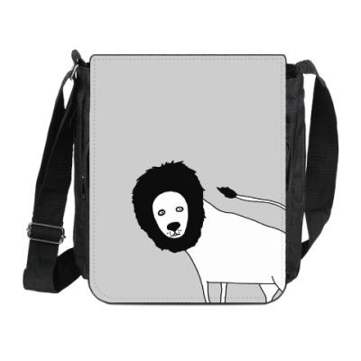 Сумка на плечо (мини-планшет) Лев