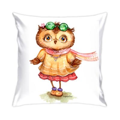 Подушка Boho Owl