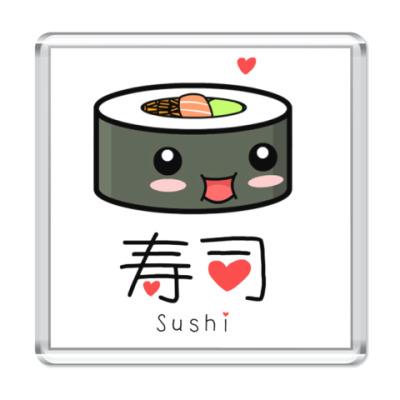 Магнит Love Sushi