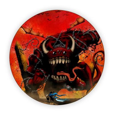Костер (подставка под кружку)  Конец Света