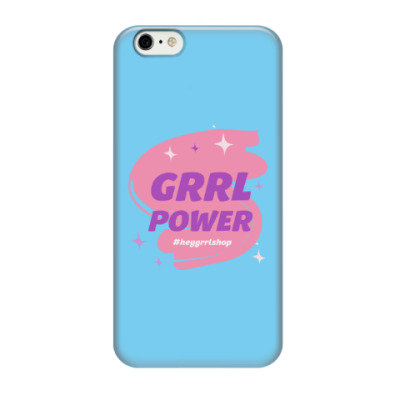 Чехол для iPhone 6/6s Grrl Power / iPhone