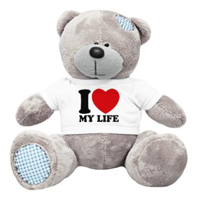 Плюшевый мишка Тедди Люблю свою жизнь