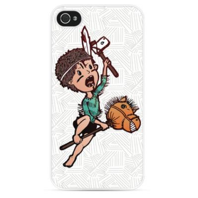 Чехол для iPhone Маленький Вождь Большое Яблоко