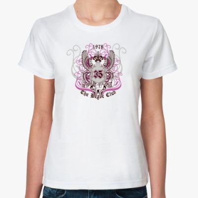 Классическая футболка Brave club