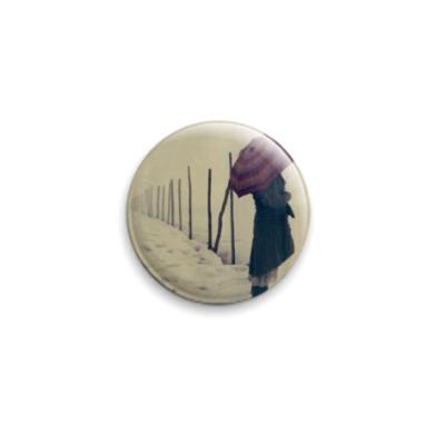 Значок 25мм  25 мм Umbrella Sorrow