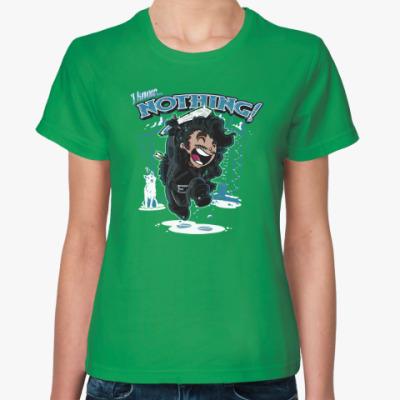 Женская футболка Джон Сноу