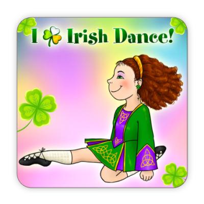 Костер (подставка под кружку) Irish Dance