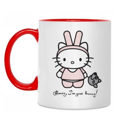 Кружка Honey, I'm your bunny!