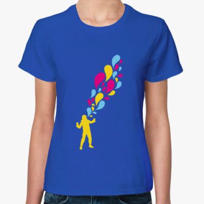 Женская футболка   Emotion